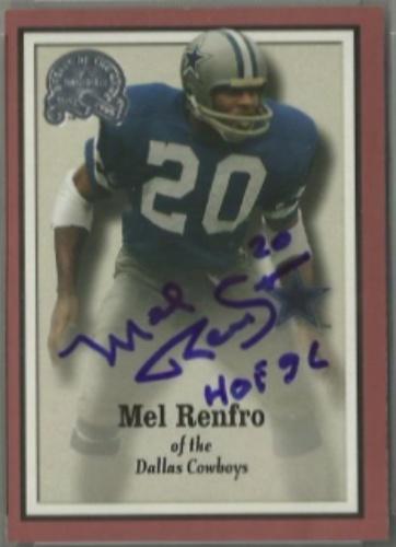 Mel Renfro Autograph. Mel Renfro 8d7f17de9