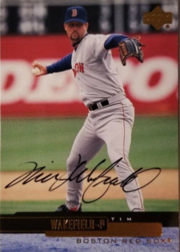 Tim Wakefield Autographs And Memorabilia Sports Baseball