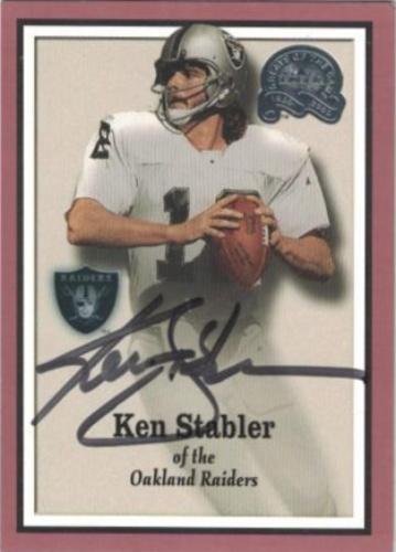 half off 29215 79b4a Ken Stabler Autographs and Memorabilia | Sports, Football