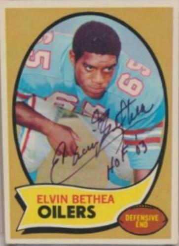 dec97b885 Elvin Bethea Autographs and Memorabilia | Sports, Football