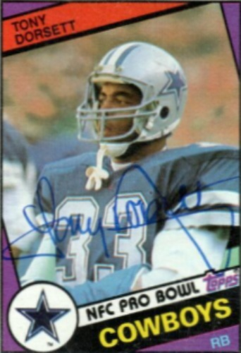 brand new 03a55 16aed Tony Dorsett Autographs and Memorabilia | Sports, Football