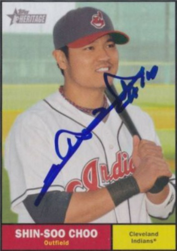 Shin Soo Choo Autographs And Memorabilia Sports Baseball