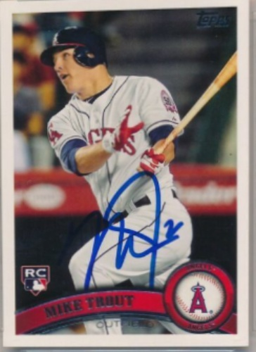 e79d0da3f87 Mike Trout Autographs and Memorabilia | Sports, Baseball