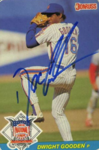 brand new 68d0a 876fd Dwight Gooden Autographs and Memorabilia | Sports, Baseball