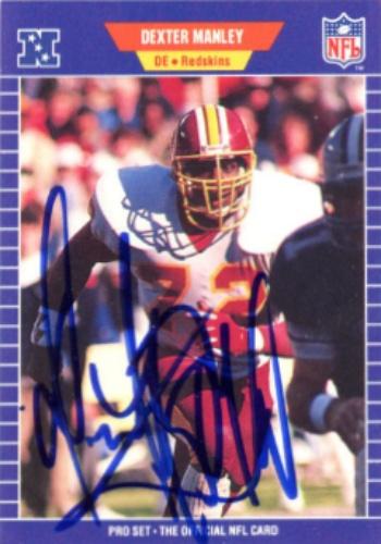separation shoes b310f 91064 Dexter Manley Autographs and Memorabilia | Sports, Football