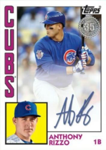 get cheap e4665 cdc5e Anthony Rizzo Autographs and Memorabilia | Sports, Baseball