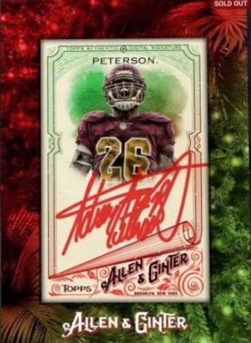 Adrian Peterson Autographs And Memorabilia Sports Football
