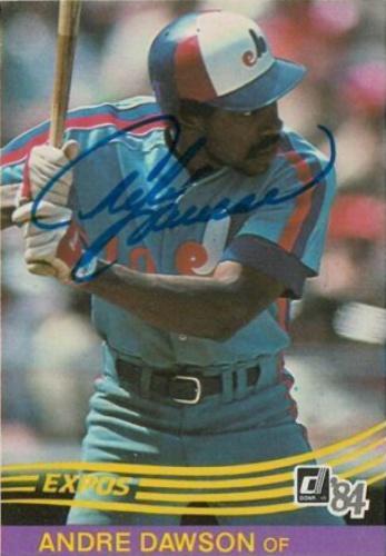 cheap for discount bf4bf 83771 Andre Dawson Autographs and Memorabilia | Sports, Baseball