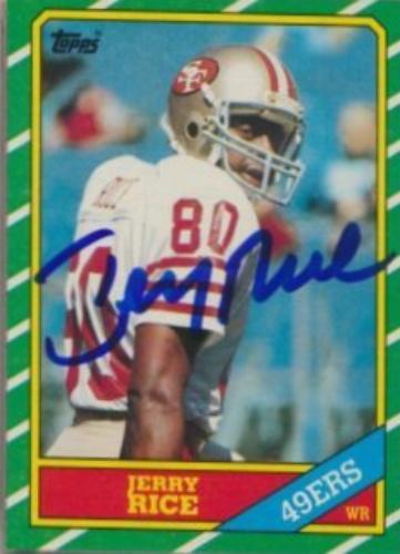 3cd746864 Jerry Rice Signature