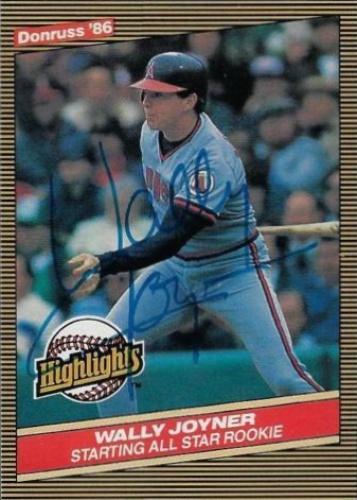 Wally Joyner Autographs And Memorabilia Sports Baseball