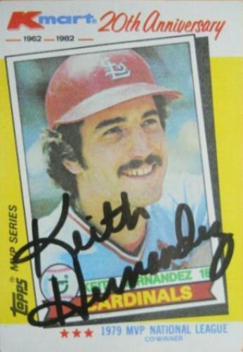 Keith Hernandez Autographs And Memorabilia Sports Baseball