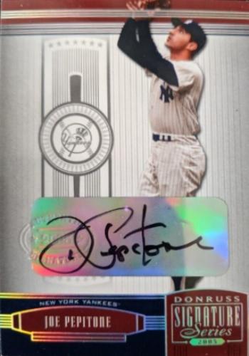 Joe Pepitone Autographs And Memorabilia Sports Baseball