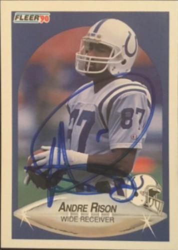 1c9a8c585 Andre Rison Autographs and Memorabilia | Sports, Football