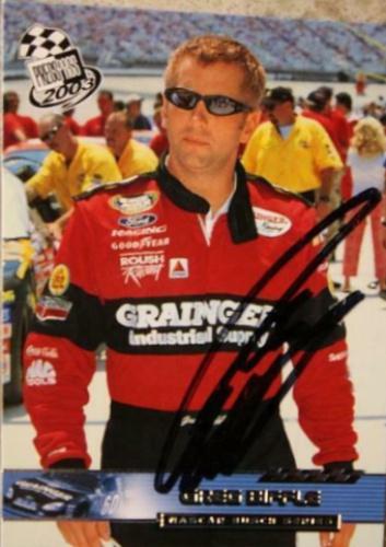 "2012 GREG BIFFLE /""3M/"" #16 NASCAR SPRINT CUP SERIES POSTCARD"