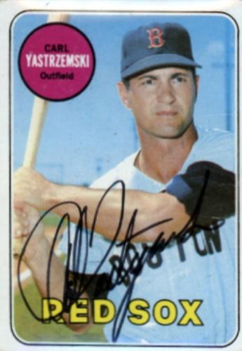 Carl Yastrzemski Autographs And Memorabilia Sports Baseball