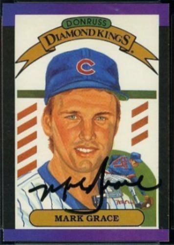 Mark Grace Autographs And Memorabilia Sports Baseball