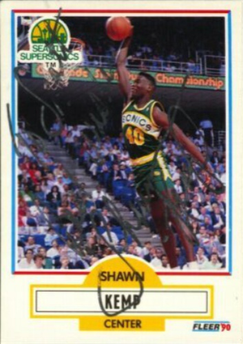 3785c4a6a54 Shawn Kemp Autographs and Memorabilia | Sports, Basketball