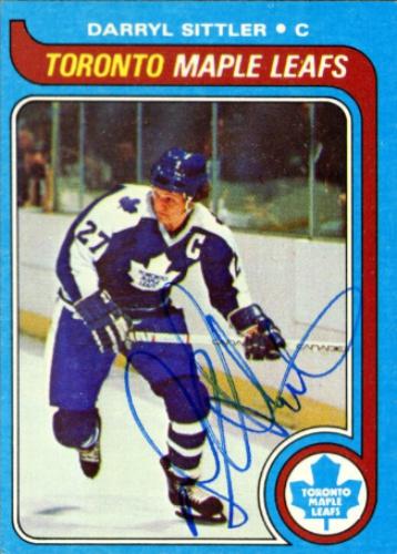 Darryl Sittler Autographs And Memorabilia Sports Hockey