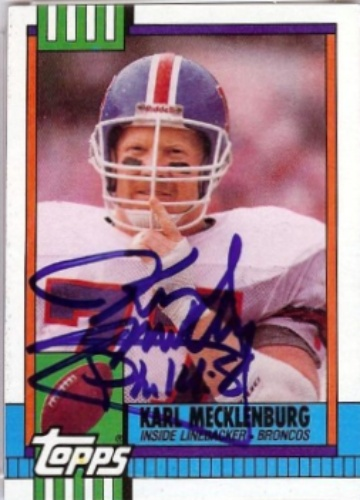 Karl Mecklenburg Autograph. Karl Mecklenburg c718e7334