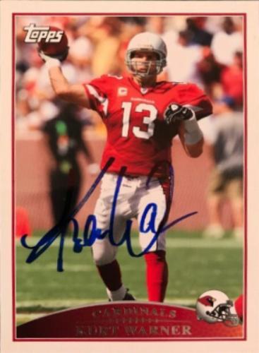 classic fit f5328 bcf90 Kurt Warner Autographs and Memorabilia   Sports, Football