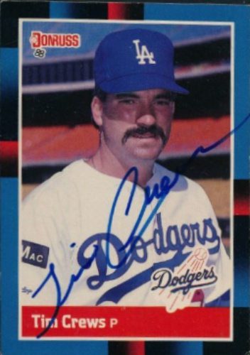 Tim Crews Autographs And Memorabilia Sports Baseball