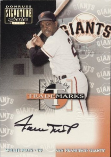 c485772756e7c4 Willie Mays Autographs and Memorabilia | Sports, Baseball