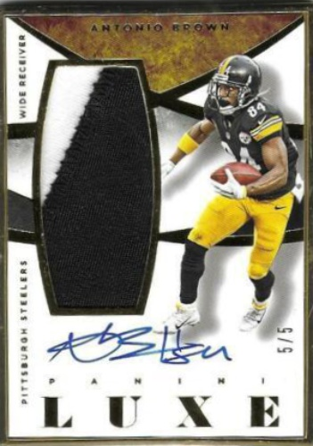 4f3398fcca4 Antonio Brown Autographs and Memorabilia