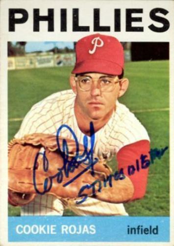 Cookie Rojas Autographs And Memorabilia Sports Baseball