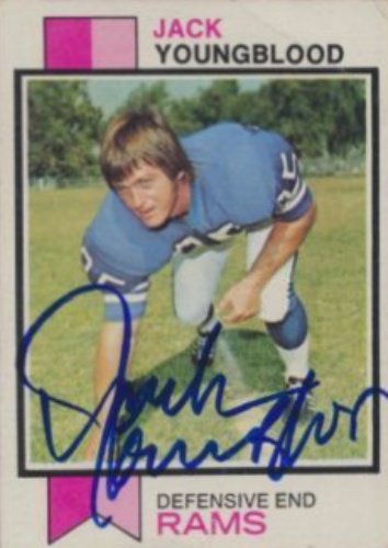size 40 ea628 16df2 Jack Youngblood Autographs and Memorabilia   Sports, Football